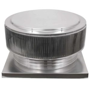 Gravity Ventilator - Aura Vent with Curb Mount Flange AV-24-C04-CMF-2