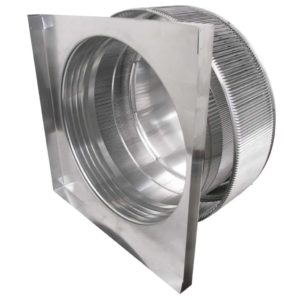 Gravity Ventilator - Aura Vent with Curb Mount Flange AV-24-C04-CMF-5