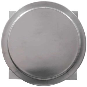 Gravity Ventilator - Aura Vent with Curb Mount Flange AV-24-C06-CMF-3