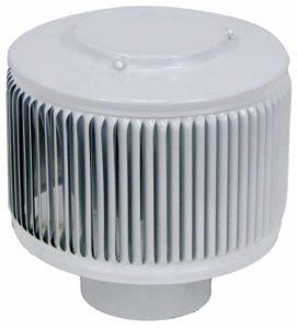 PVC Aura Vent Cap AV-3-PVC white