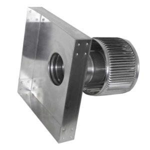 Gravity Ventilator - Aura Vent with Curb Mount Flange AV-4-C4-CMF-Retake-3