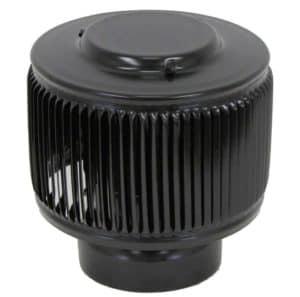 PVC Aura Vent Cap AV-4-PVC-black-angle