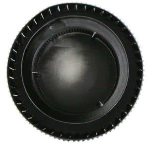 PVC Aura Vent Cap AV-6-PVC-black-bottom-1