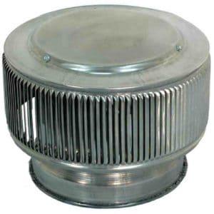 PVC Aura Vent Cap AV-8-PVC-angle-x