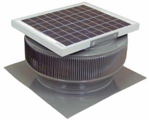 Solar Attic Fan - Aura Solar Fan HD-ASF-14-C2-WD