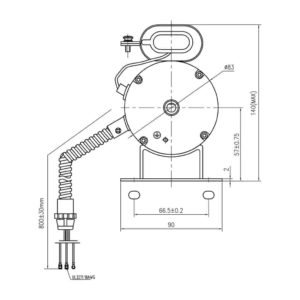 Aura Fan Motor MTR-12-1