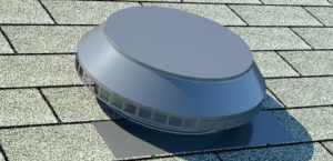 Roof Louver - Pop Vent for Exhaust PV-14-C1-weatherwood