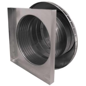 Roof Louver for Air Intake - Pop Vent with Curb Mount Flange PV-18-C06-CMF-3