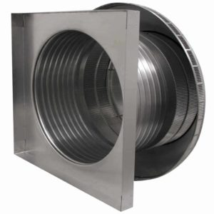 Roof Louver for Air Intake - Pop Vent with Curb Mount Flange PV-18-C08-CMF-3
