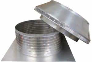 Roof Louver PVC Pipe Cap PV-20-C8-removed