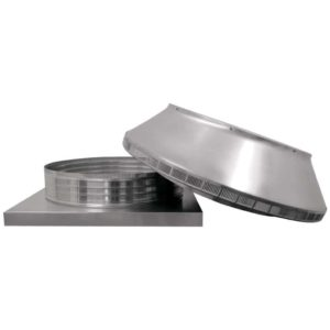 Roof Louver for Air Intake - Pop Vent with Curb Mount Flange PV-24-C04-CMF-6