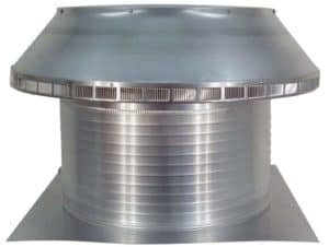 Roof Louver PVC Pipe Cap PV-24-C12-side