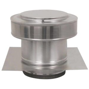 Residential Round Back Roof Jack Vent Cap RBV-7-C4-TP-2
