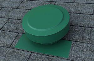 Static Vent Round Back RBV-8-Green