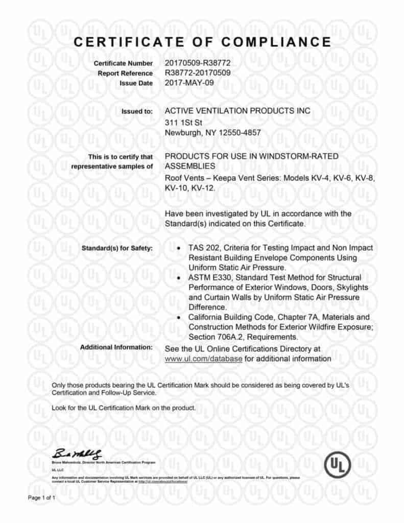 certificate-of-compliance-keepa-vent