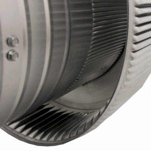 Attic Fan - Aura Fan AF-10-C8-louvers