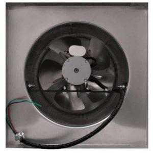 Attic Fan - Aura Fan - with Curb Mount Flange AF-12-C8-CMF-bottom