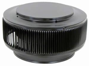 PVC Aura Vent Cap AV-10-PVC-black-angle