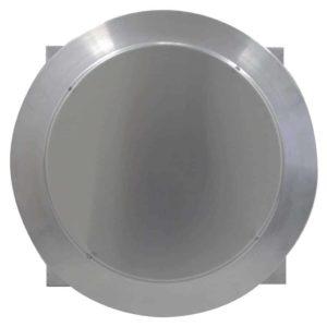 Gravity Ventilator - Aura Vent with Curb Mount Flange AV-12-C4-CMF-top