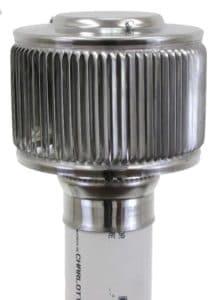 PVC Aura Vent Cap AV-3-PVC