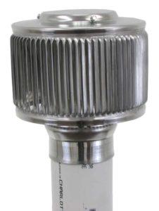 PVC Aura Vent Cap AV-3-PVC_installedSide