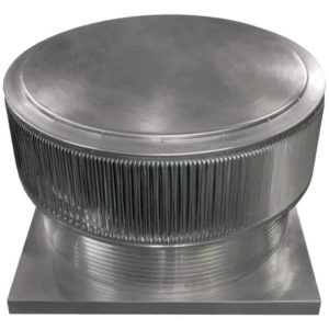 Gravity Roof Ventilator - Aura Vent with Curb Mount Flange