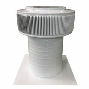10 inch Aura Gravity Vent - AV-10-C12 in White