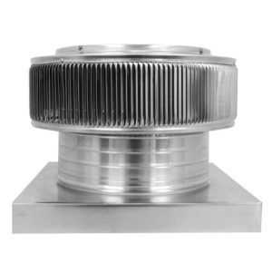 Gravity Ventilator - Aura Vent with Curb Mount Flange AV-12-C4-CMF-side