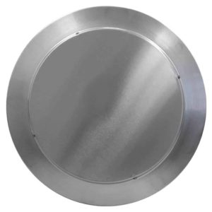 Gravity Ventilator - Aura Vent with Curb Mount Flange AV-12-C6-CMF-top