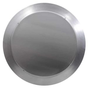 Gravity Ventilator - Aura Vent with Curb Mount Flange AV-14-C6-CMF-top