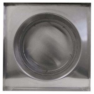 Gravity Ventilator - Aura Vent with Curb Mount Flange AV-16-C6-CMF-bottom