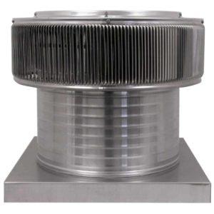 Gravity Ventilator - Aura Vent with Curb Mount Flange AV-16-C8-CMF-front