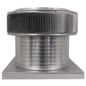 Gravity Ventilator - Aura Vent with Curb Mount Flange AV-18-C12-CMF-front