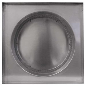 Gravity Ventilator - Aura Vent with Curb Mount Flange AV-18-C4-CMF-bottom