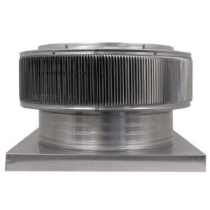 Gravity Ventilator - Aura Vent with Curb Mount Flange AV-18-C4-CMF-side