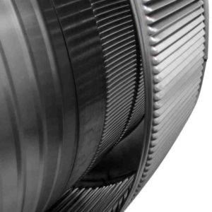 Gravity Ventilator - Aura Vent with Curb Mount Flange AV-18-C6-CMF-louvers