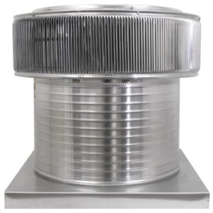 Gravity Ventilator - Aura Vent with Curb Mount Flange AV-20-C12-CMF-front