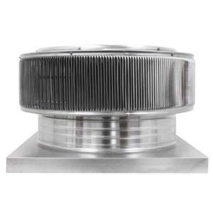 Gravity Ventilator - Aura Vent with Curb Mount Flange AV-20-C4-CMF