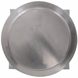 Gravity Ventilator - Aura Vent with Curb Mount Flange AV-20-C4-CMF-top