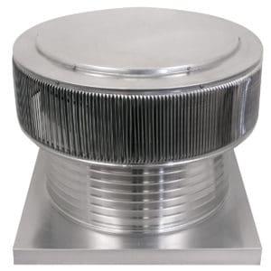 Gravity Ventilator - Aura Vent with Curb Mount Flange AV-20-C8-CMF-angles