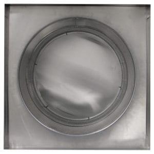 Gravity Ventilator - Aura Vent with Curb Mount Flange AV-20-C8-CMF-bottom