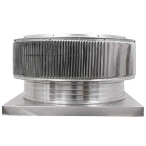 Gravity Ventilator - Aura Vent with Curb Mount Flange AV-24-C4-CMF-front