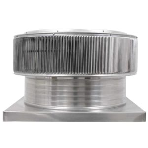 Gravity Ventilator - Aura Vent with Curb Mount Flange AV-24-C6-CMF-front
