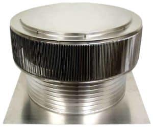 Gravity Ventilator - Aura Ventilator AV-24-C8-angle