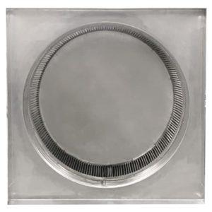 Gravity Ventilator - Aura Vent with Curb Mount Flange AV-30-C4-CMF-bottom