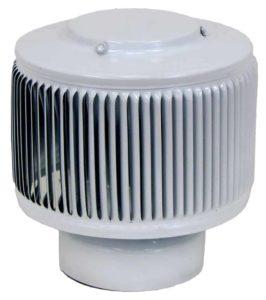 PVC Aura Vent Cap AV-4-PVC-white-angle