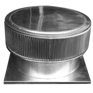 Gravity Ventilator - Aura Vent with Curb Mount Flange AV-48-C12-CMF