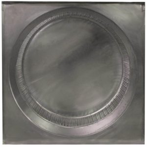 Gravity Ventilator - Aura Vent with Curb Mount Flange AV-48-C12-CMF-5