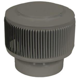 6 inch Aura Vent PVC Cap