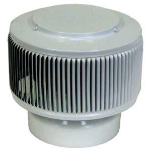 PVC Aura Vent Cap AV-6-PVC-white-angle